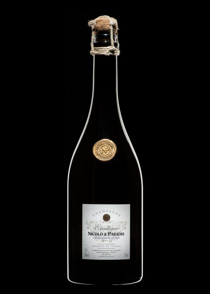 bouteille champagne authentique