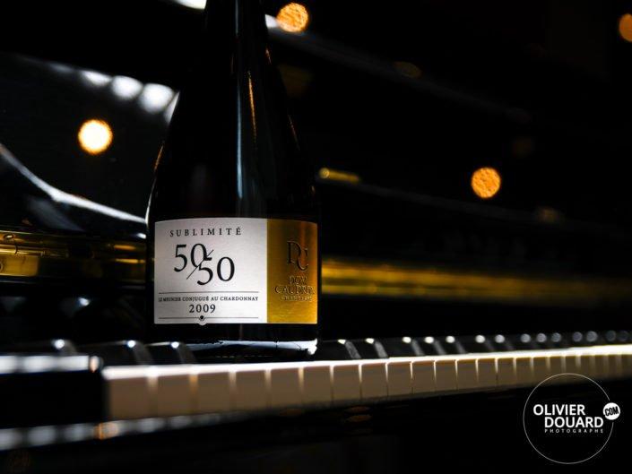 Photographe Reims bouteille de Champagne