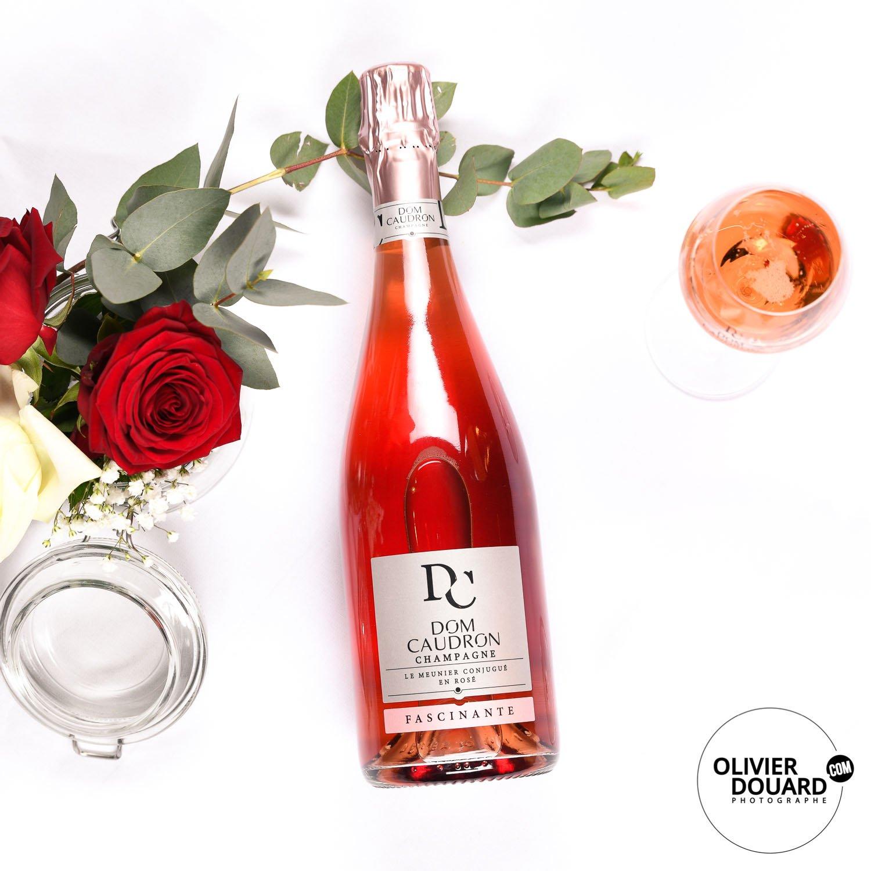Photographe C-bouteille de Champagne publicité