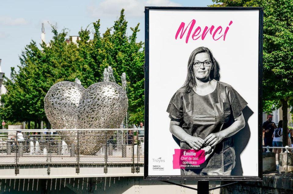 Portraits de soignants à Troyes