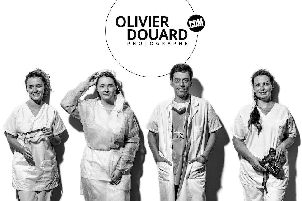 Photographe Troyes soignants Olivier Douard