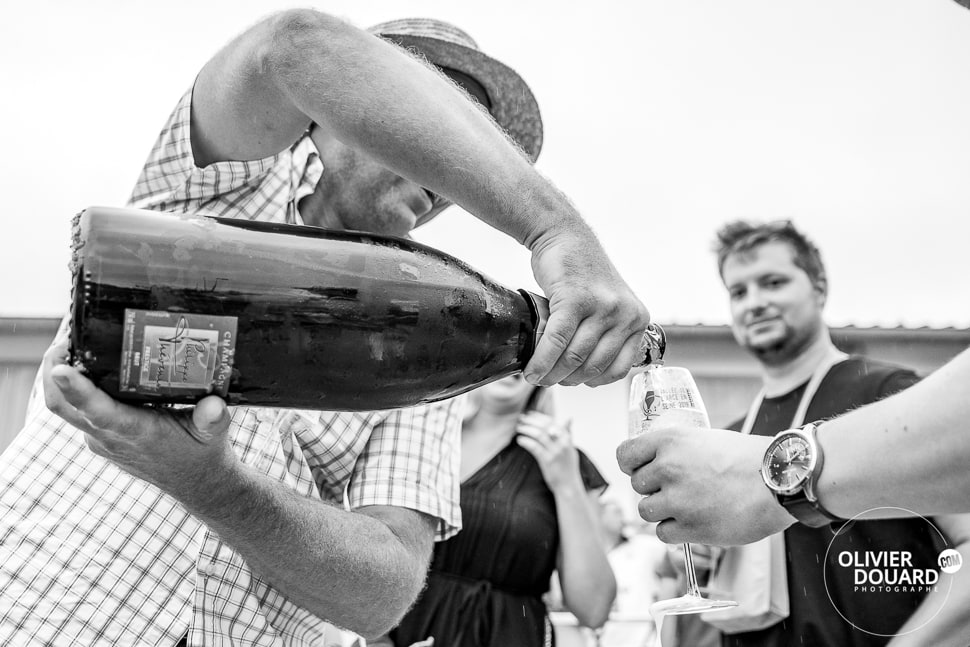 Bouteille de Champagne Magnum