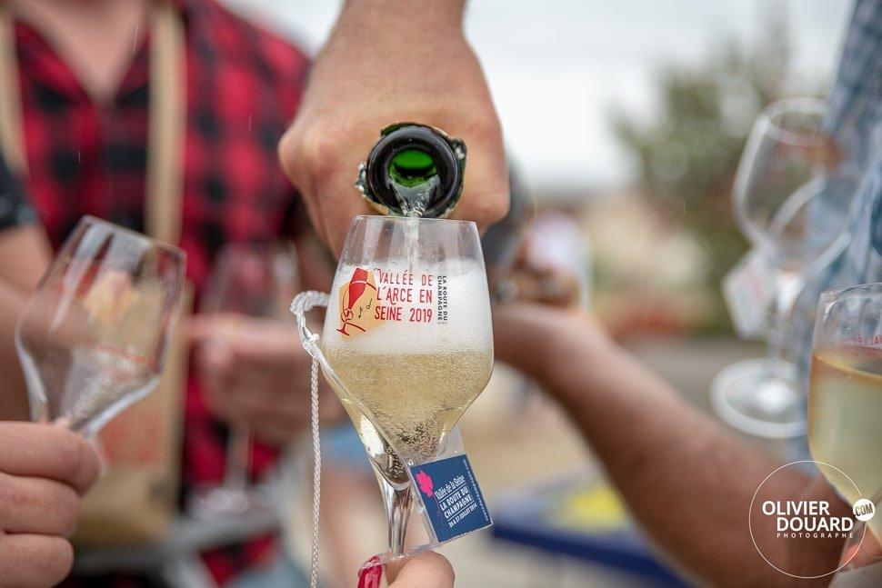 Flûte route du champagne
