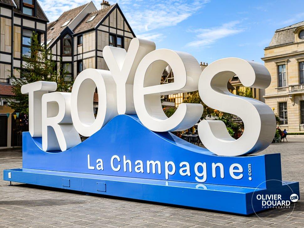 Lettres ville de Troyes