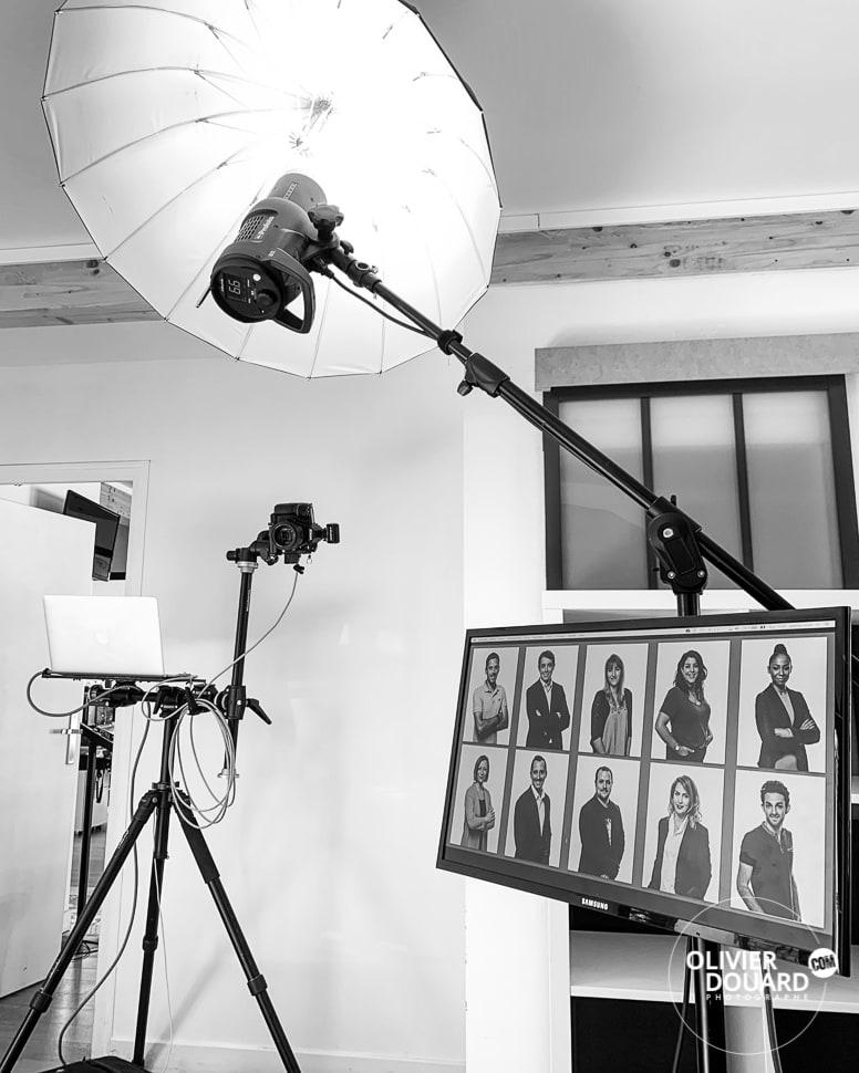 Shooting photo entreprise